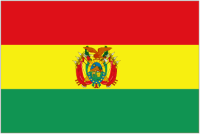 Country Code +591 flag image
