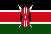 Country Code +254 flag image