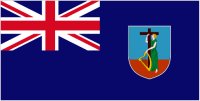 Country Code +1664 flag image