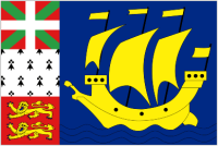 Country Code +508 flag image