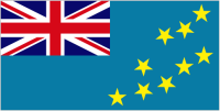 Country Code +688 flag image