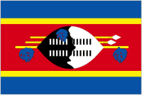 Country Code +268 flag image