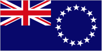 Country Code +682 flag image