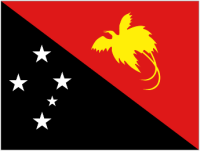 Country Code +675 flag image