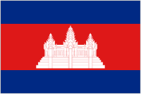 Country Code +855 flag image