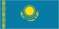 Country Code +7 flag image