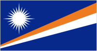 Country Code +692 flag image