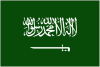 Country Code +966 flag image