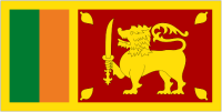 Country Code +94 flag image