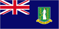 Country Code +1284 flag image