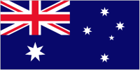 Country Code +61 flag image