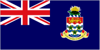 Country Code +1345 flag image