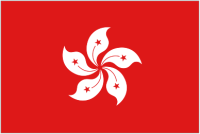 Country Code +852 flag image