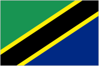 Country Code +255 flag image
