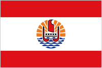 Country Code +689 flag image