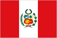 Country Code +51 flag image