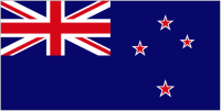 Country Code +64 flag image